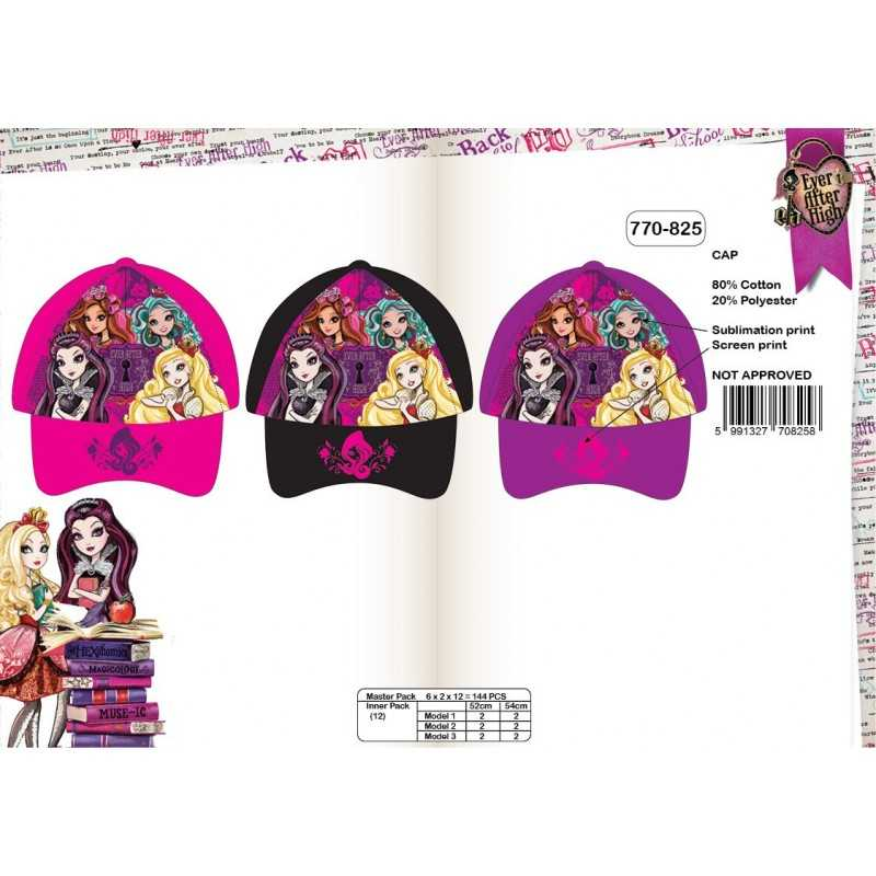Casquette Ever after High 770-825